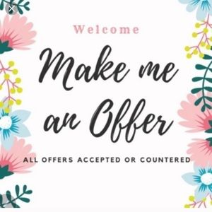 🌼 make an offer 🌼
